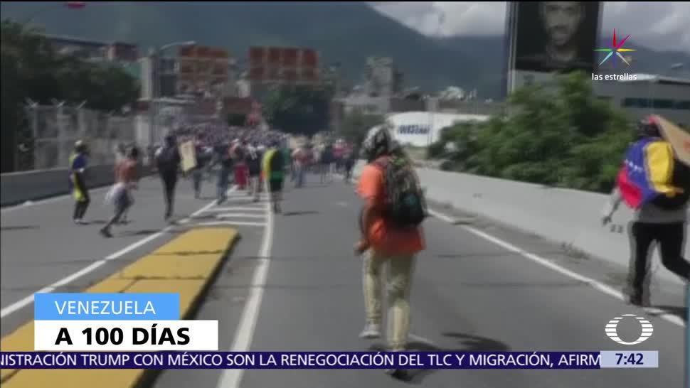 cien días de protestas, protestas en Venezuela, Nicolás Maduro, régimen