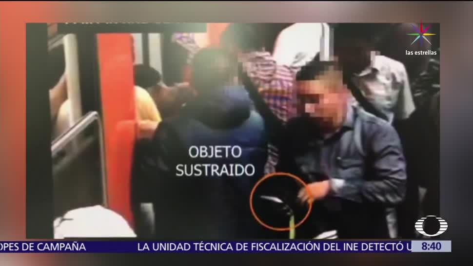 robos, sin violencia, Metro CDMX, seguridad en trenes