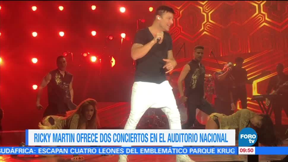 Ricky Martin, 20 mil personas, conciertos, Auditorio Nacional