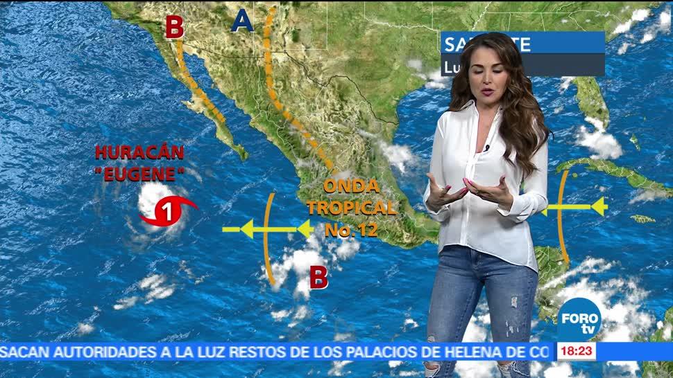 El clima, Mayte Carranco, temperaturas superiores, 40 grados