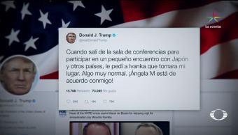 noticias, televisa, Trump, defiende, hija, sustituyera en G20