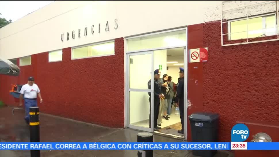 noticias, forotv, Hospital General La Villa, resulta, afectado, lluvias