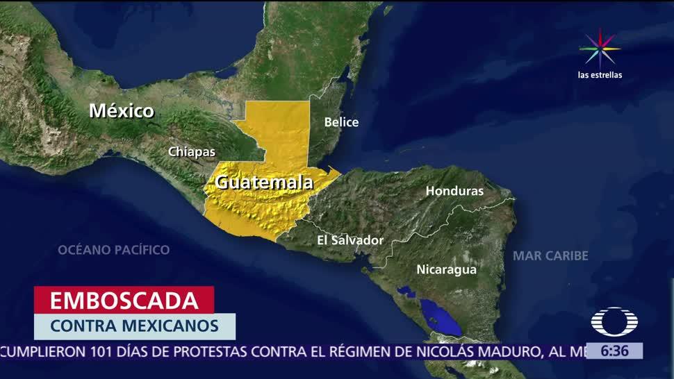 Mueren músicos mexicanos, heridos, emboscada, Ruta Interamericana, Guatemala