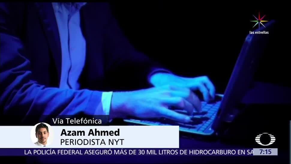 Azam Ahmed, periodista, New York Times, espionaje en México