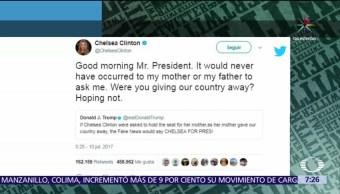 Chelsea Clinton, Donald Trump, Ivanka, cumbre del G20