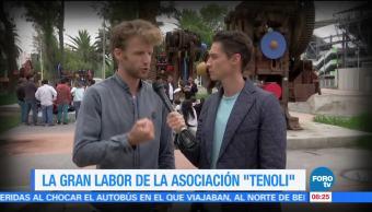 Héctor Alonso, gran labor, realiza, Asociación Tenoli
