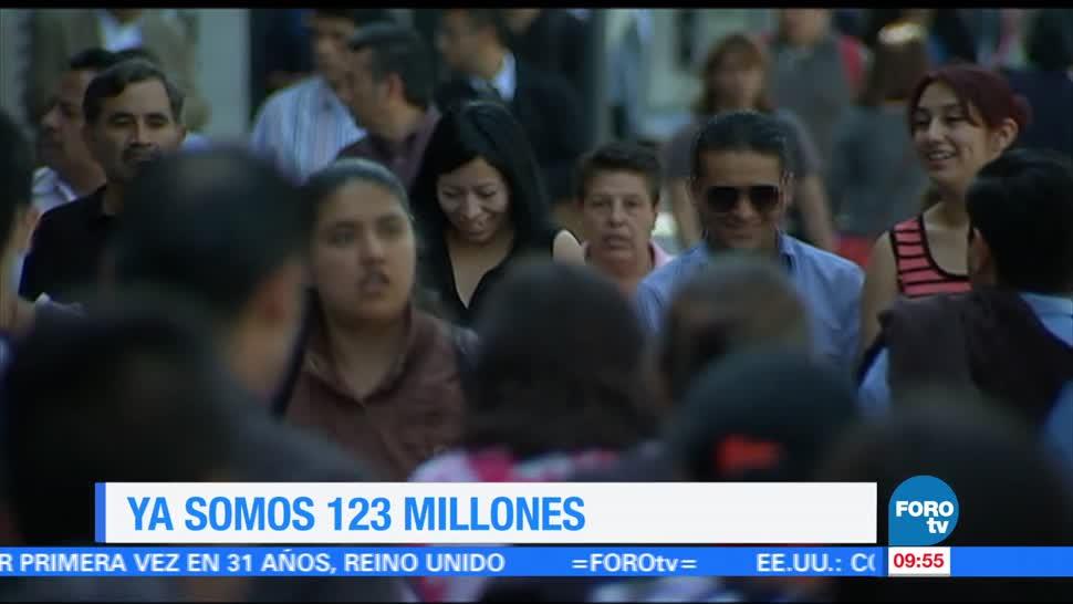 México, 123 millones de personas, mitad, 29 años