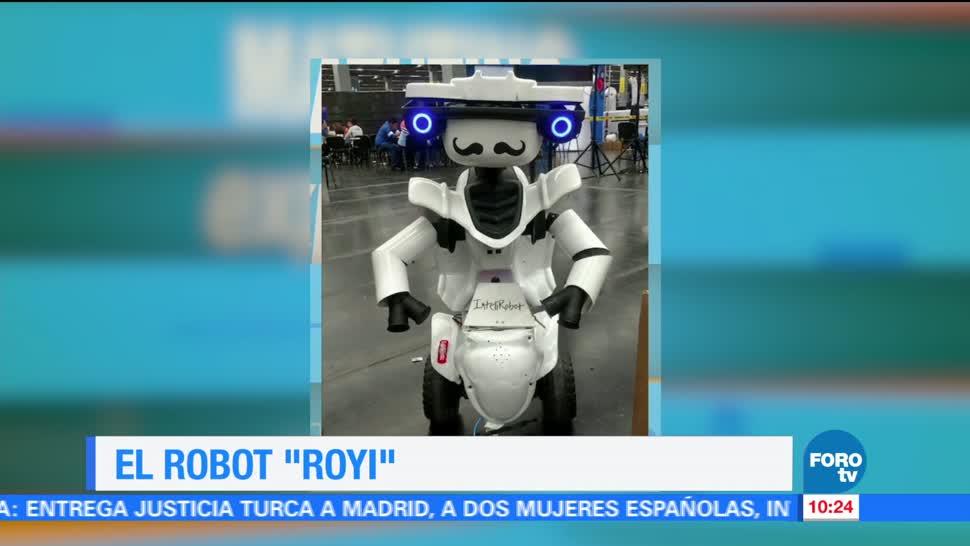 comunidades rurales, propósito, conocimiento, robot llamado 'Royi'