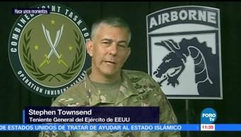 teniente general, ejército estadounidense, Stephen Townsend, Abu Bakr Al Baghdadi