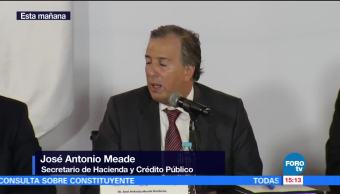 Aumento, salario mínimo, José Antonio Meade, secretario de Hacienda