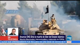 noticias, forotv, Muerte, Abu Bakr Al-Baghdadi, fuerte golpe, terrorismo