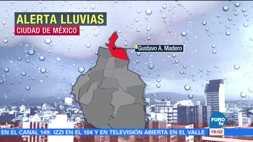 noticias, forotv, Luis Felipe Puente, alerta, lluvias, Valle de México