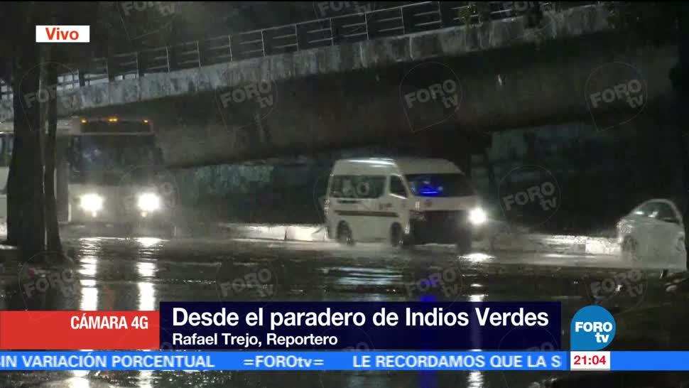 noticias, forotv, Inundaciones, lluvias, Ciudad de México, calles inundadas