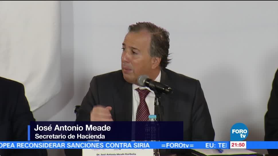 noticias, forotv, Paquete económico 2018, cautela, Meade, secretario de Hacienda