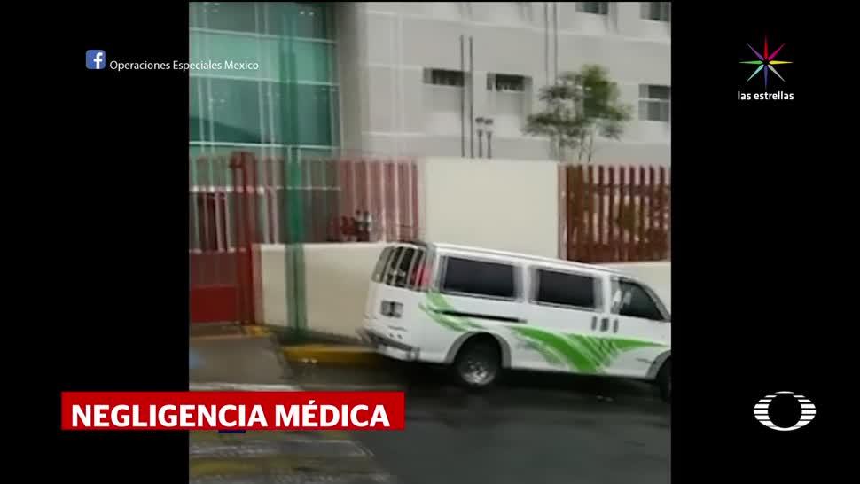 noticias, televisa, Arrojan, cuerpo, recién nacida, hospital de la CDMX