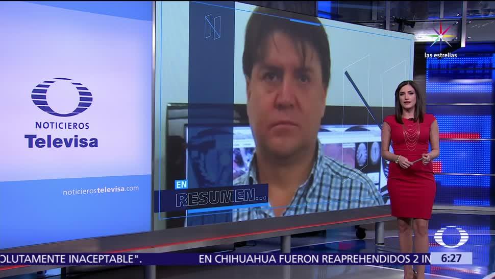 noticias, televisa, Las noticias, con Danielle Dithurbide, Programa, 12 de julio del 2017