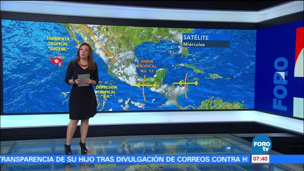 noticias, forotv, Onda tropical, genera lluvias, gran parte de México, lluvias