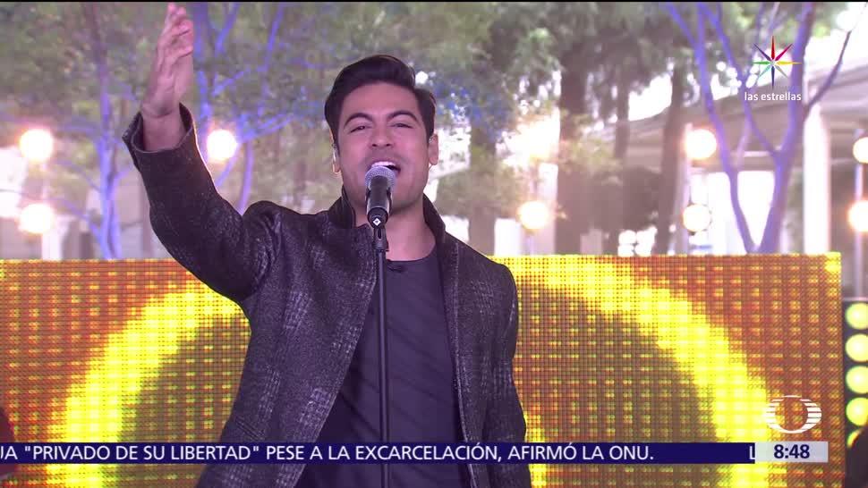 noticias, forotv, Carlos Rivera, estudio de Al Aire, cantante, Lo Digo
