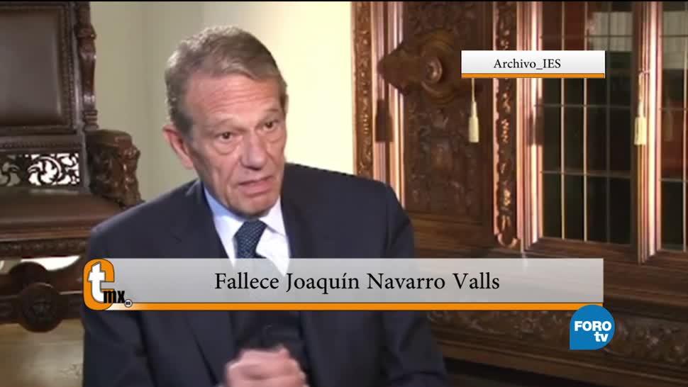 Catholicmx, Esteban Arce, fallecimiento de Joaquín Navarro Valls, ex vocero del Vaticano