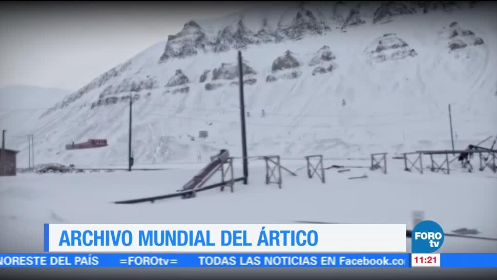 Archivo Mundial del Ártico, reportaje, Sofía Escobosa