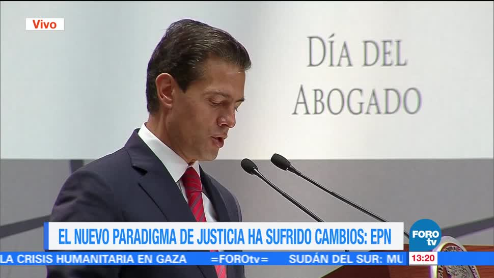presidente, Enrique Peña Nieto EPN, conmemora, Día del Abogado