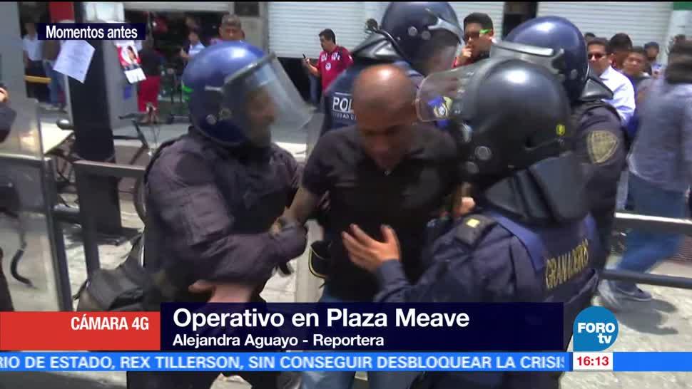 noticias, forotv, Policía capitalina, realiza operativo, celulares robados, Eje Central