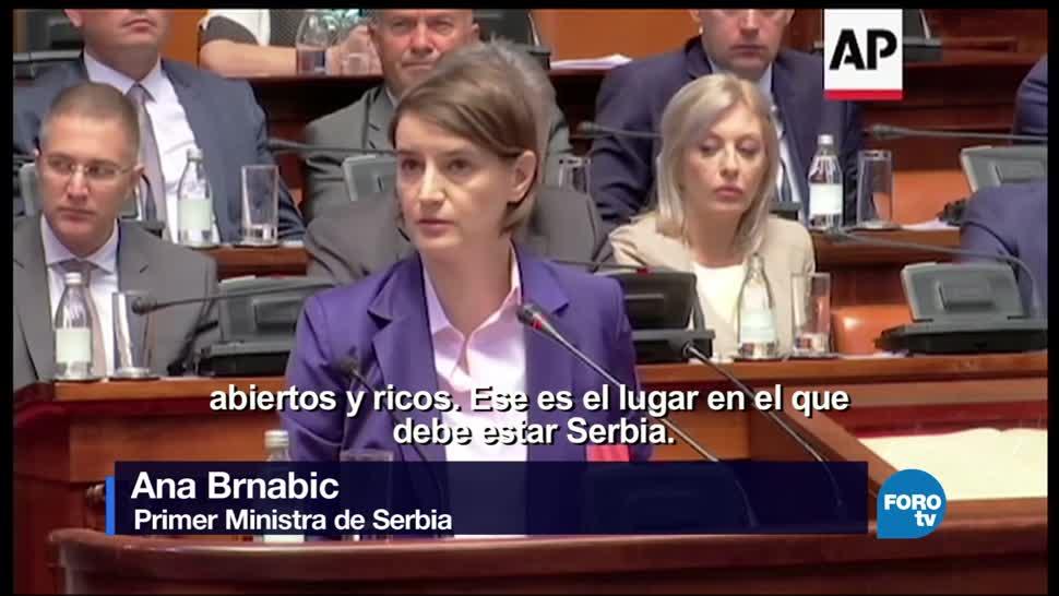 Ana Brnabic, empresaria, gobierna, Serbia, presidenta, lesbiana