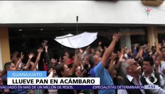 noticias, televisa, Lluvia de pan, celebra, Virgen del Refugio, Guanajuato