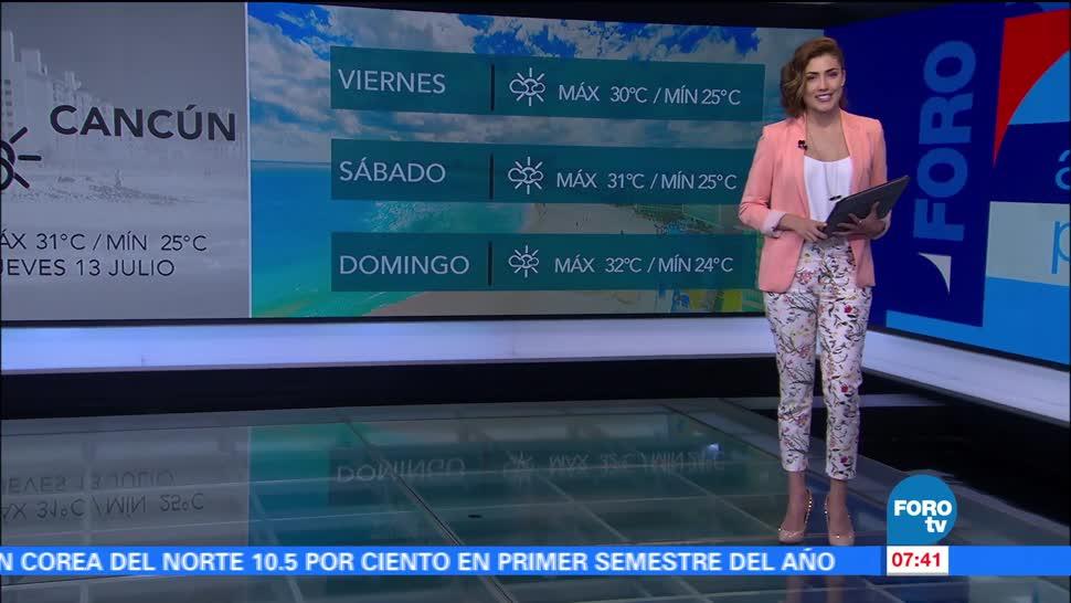 noticias, forotv, Onda tropical 13, provocará, lluvias, Guerrero y Oaxaca