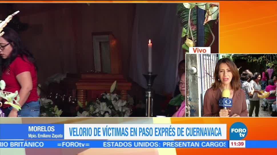 noticias, forotv, Velan hombres, cayeron, socavón del Paso Express, Cuernavaca