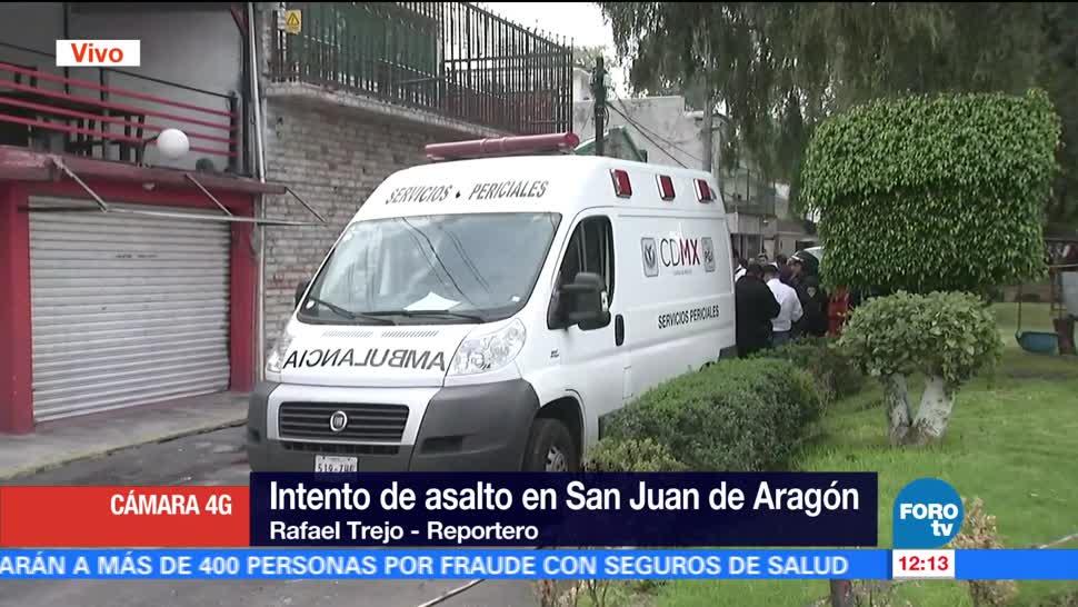 notcias, fortov, Intento de asalto, San Juan de Aragón , asalto, mujer muerta