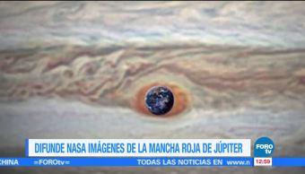 noticias, forotv, NASA, difunde nuevas imágenes, Gran Mancha Roja, Júpiter