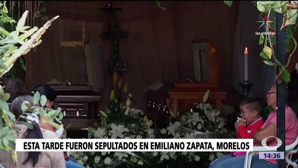Despiden, víctimas, socavón, Paso Express, funeral, sepelio
