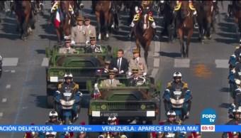 noticias, forotv, Inician, festejos, Día de la Bastilla, Francia