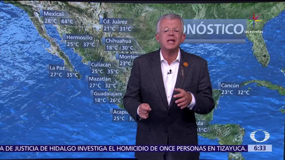 noticias, televisa, Despierta con Tiempo, Prevén, amplias zonas de tormenta, México