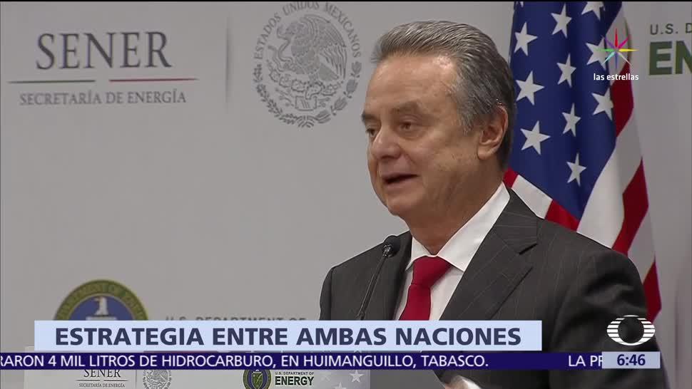 noticias, televisa, México y EU, diseñan estrategia, garantizar, suministro energético