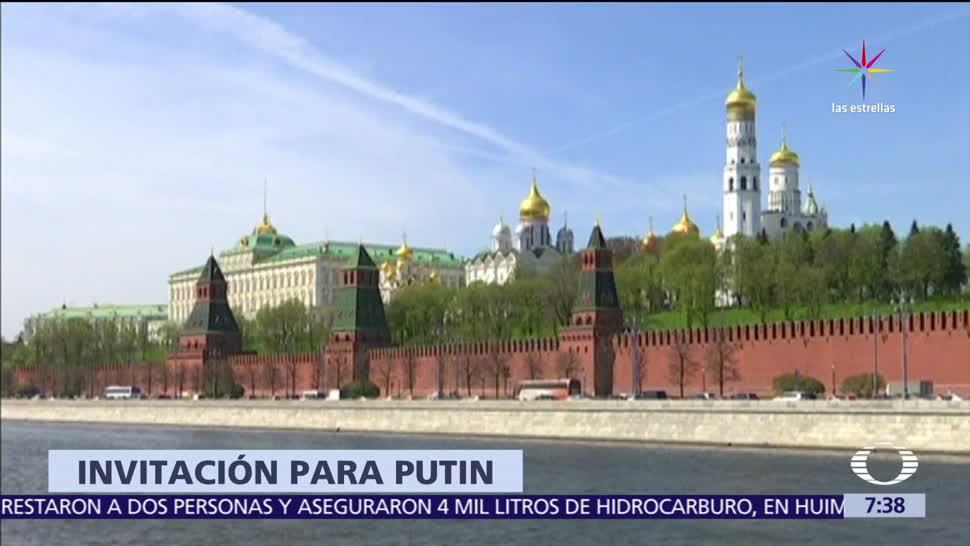 noticias, televisa, Trump, anuncia, invitará a Vladimir Putin, Casa Blanca