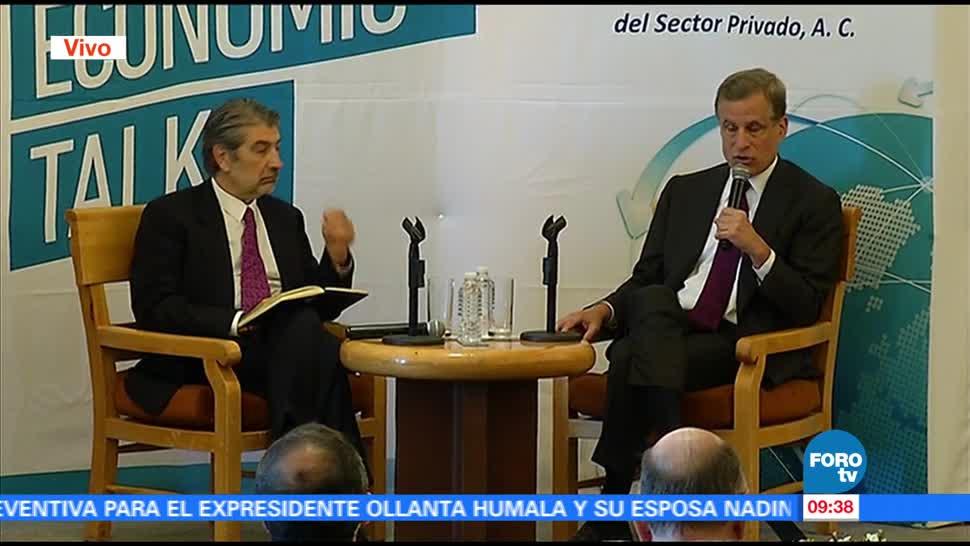 noticias, forotv, Robert Kaplan, presidente, Fed Dallas, destaca relación con México