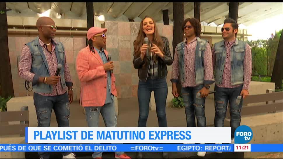 noticias, forotv, El playlist, Merenglass, Matutino Express, Sofía Escobosa