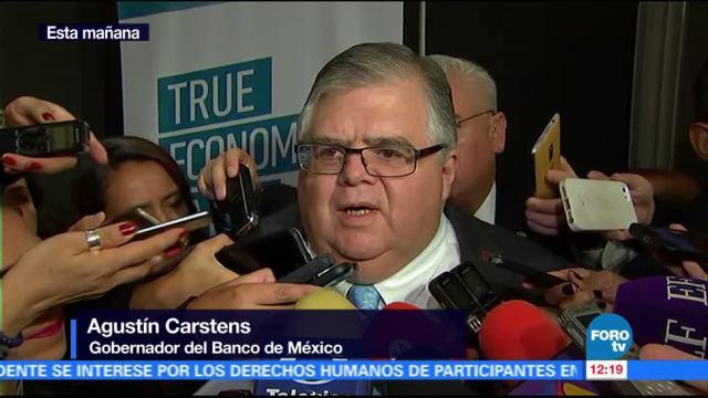 noticias, forotv, Carstens, confía, inflación, volverá a la meta de 3