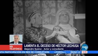 Alejandro Suárez, actor y comediante, Héctor Lechuga