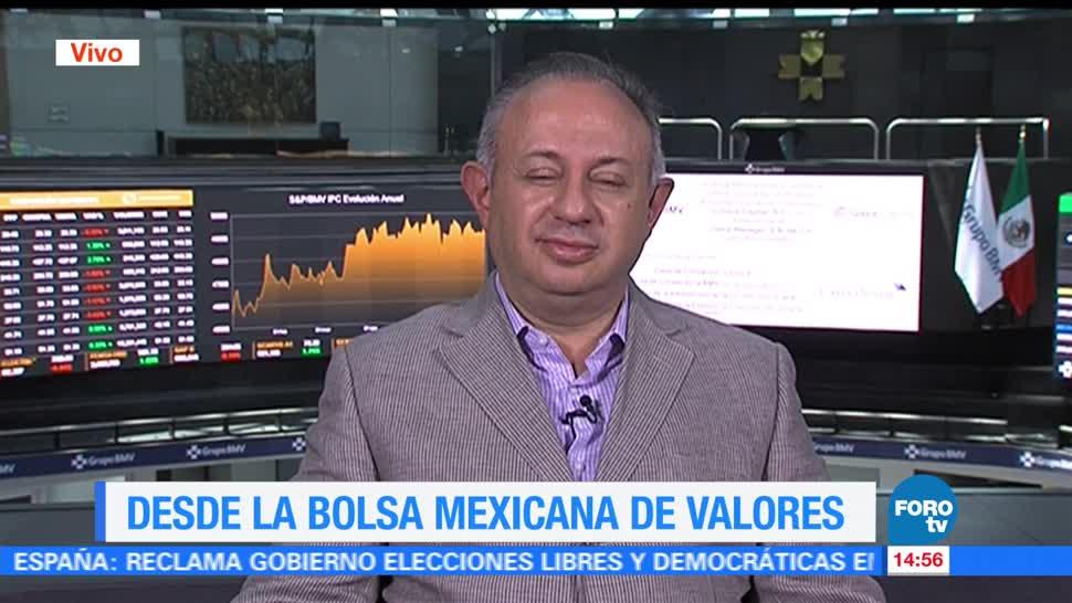 Arnulfo Rodríguez, analista financiero, resultados positivos, Bolsa Mexicana de Valores