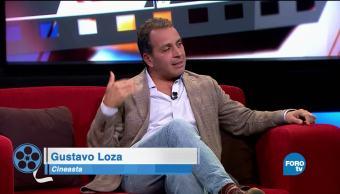 Gustavo Loza, platica, películas, favoritas, Leo Zuckermann, Lucero Solórzano