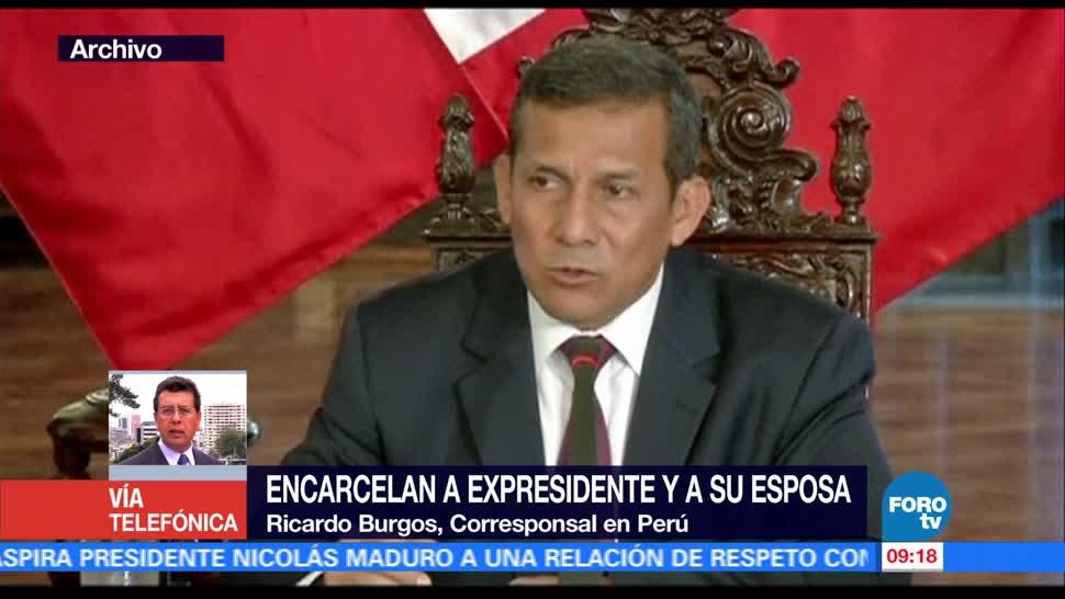 Expresidente, Ollanta Humala, segundo día, prisión