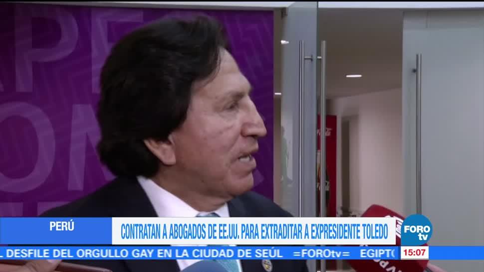 Gobierno de Perú, Alejandro Toledo, extraditar de EU, expresidente