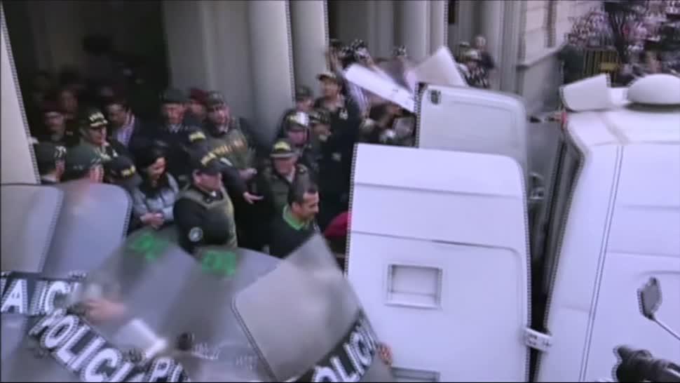 Expresidente, Perú, esposa, primer día prisión, ollanta humala, Nadine Heredia