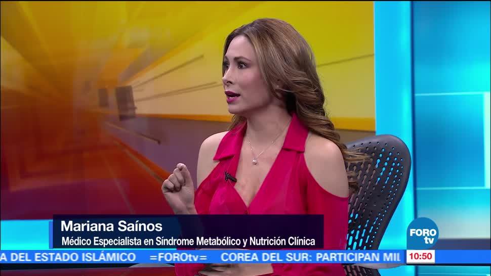 médica especialista,síndrome metabólico, Mariana Saínos, obesidad, alimenticios
