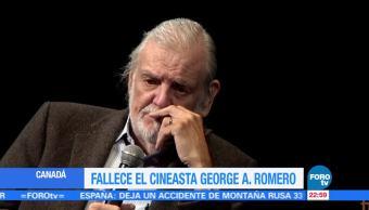 Muere, cineasta, George A., Romero prionero, cine terror