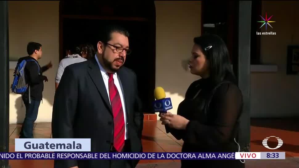 Carlos Velázquez, abogado de Javier Duarte, exgobernador, Guatemala,México