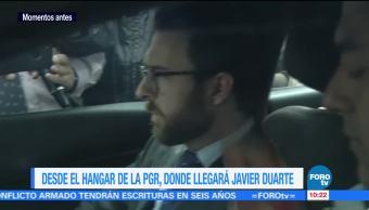 Pablo Campuzano de la Mora, abogado mexicano, Javier Duarte, hangar de la PGR